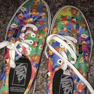 Vans Super Mario Shoes